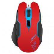 Мишка Speedlink Contus, оптична 3200 dpi, USB, геймърска, подсветка, червена