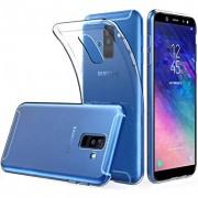 Husa Samsung Galaxy A6+ Plus 2018 Super Slim 0.5mm Silicon Gel TPU Transparenta