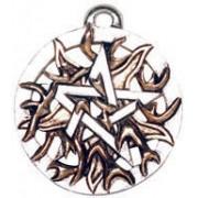 kulcstartó Fire Pentagram - EASTGATE RESOURCE - PR9