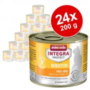 Animonda Integra Protect Adult Sensitive Conservă 24 x 200 g - Miel & orez