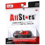 Maisto All-Stars Collection Diecast Series 14 - 2014 Corvette Stingray Convertible (grey)