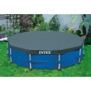 Pokrivalo za bazene sa tvrdim rubom 366 cm Intex