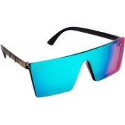 TheWhoop Over-sized Sunglasses(Green)