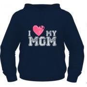 I Love My Mom - Albastru - Keya - XXL