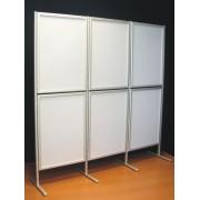 Ścianka ekspozycyjna ELLA 6 x A1 - jednostronna Ekspozycyjna ścianka ELLA 6xA1