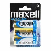 Set 2 baterii alkaline Maxell D LR20