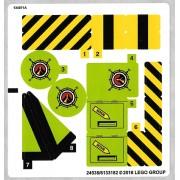 stk60123 Autocolant LEGO City 60123