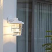 Eglo Aloria Aplique Exterior Brazo Alto Blanco