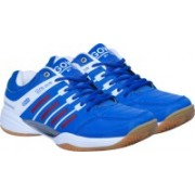 Triumph Ultra Senso Blue/White Non Marking Sole Badminton Shoes / Court Shoe Size-8 Badminton Shoes For Men(Blue, White)