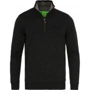 Boss Green Sweat Half Zip Black