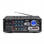 Усилвател Стерео 120 W , Bluetooth, Mp3 Player, FM Radio, USB, S
