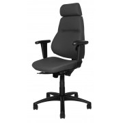 Sverigestolen 817 kompl. svart