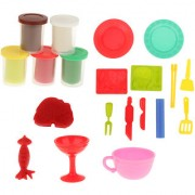 Magideal Kids Play Dough Children Plasticine Modeling Craft Model Tools Set Diy Toys