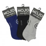 Mojo Downunder [3 Pack] Sports Socks Black & Grey & Blue