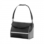 Rollator Bag - black / silver - large