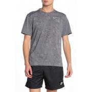 Nike Miler Dri-FIT Running Shirt 011 BLACKHTRWHITE