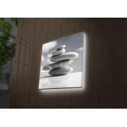 Tablou pe panza iluminat Ledda, 254LED4235, 40 x 40 cm, panza