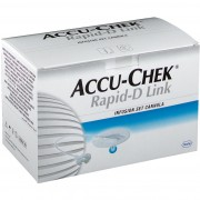 Accu-Chek® Rapid-D Link Kanüle 6 mm 25 St Kanüle