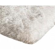 Covor Plusat 140x200 pentru Interior cu Izolare Termica in Partea Inferioara, Culoare Alb