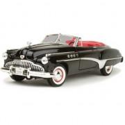 Bburago Schaalmodel Buick Roadmaster 1:18 zwart/rood