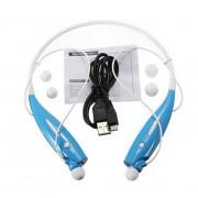 Hv-800 Sans Fil Bluetooth 4.0 Musique Stéréo Casque Universel Casque Vibration Style Anneau De Cou Pour Iphone Ipad Samsung (Bleu)