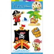 Geen Muurstickers piraten