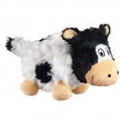 Jouet KONG Barnyard Cruncheez Vache pour chien - taille S : L 16 x l 7,5 x H 10 cm