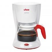 Ufesa CG7213 Activa Cafeteira 6 Canecas 0.6L 800W Branco/Vermelho