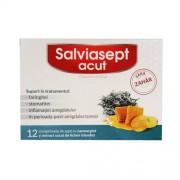 Salviasept Acut Fara Zahar 12cpr Zdrovit