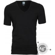 Alan Red T-shirt Oxford Schwarz - Schwarz Größe M