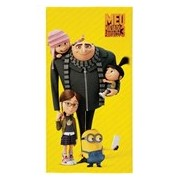 TOALHA AVELUDADA MINIONS 61255 75X140 - LEPPER - AMARELO
