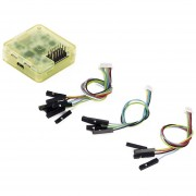 ER CC3D Controlador De Vuelo De 32 Bits Con Procesador De Caso El Pasador Recto Para Multirotor