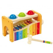 Hape-Wooden Pound and Tap Bench