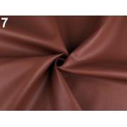 Ekobőr anyag táskákhoz, dekorációkhoz, 140cm/0.5m, barna, 380735-7
