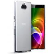 Hoesje voor Sony Xperia 10, gel case, volledig doorzichtig