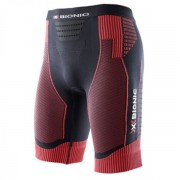 X-bionic - nohavice EFFEKTOR POWER MAN RUNNING PANTS black/red Velikost: XL