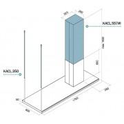 Suporti de prindere FALMEC Lumen H=1200 mm