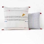 La Redoute Interieurs Fronha de almofada em puro algodão, AMAZIGHEstampado- 50 x 70 cm
