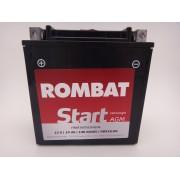 Baterie moto, scuter, atv Rombat 12V 14Ah 140A, AGM Gel RBX16-BS