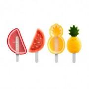 Lekue Set moldes de silicona para helados - Frutas