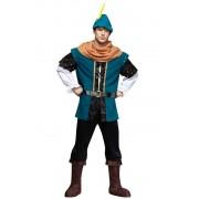 Dräkt Robin skogsman blå