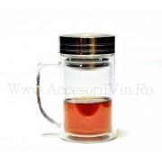 Cana ceai cu sita