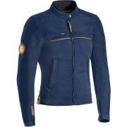 Ixon Breaker Damer motorcykel textil jacka 2XL Blå
