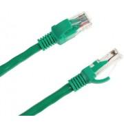Cablu UTP Intex KOM0124, Patchcord, CAT.5e, 1m (Verde)