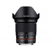 Sony Objetivo SAMYANG 20mm F1.8 Ed As Umc E (Encaje: Sony E - Apertura: f/1.8 - f/22)