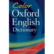 Color Oxford English Dictionary, Paperback