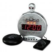 Sonic Alert SBS550ss Reloj Despertador, Color Plateado y Negro