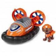 Игрален комплект Пес Патрул - Зума с въздушен кораб, 025063