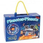 Sa invatam planetele Puzzle circular XXL piese mari