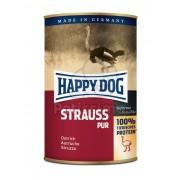 Happy Dog Strauß Pur - conservă cu carne de struț 400 g